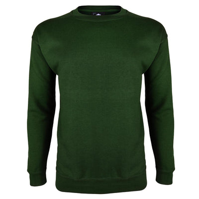 Kitrose Sweat Shirt Men's Sweat Shirt Image Bottle Green 3XL