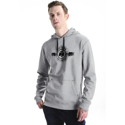 NT 1981 B Quality Pull Over Hoodie B Quality Image Heather Grey M
