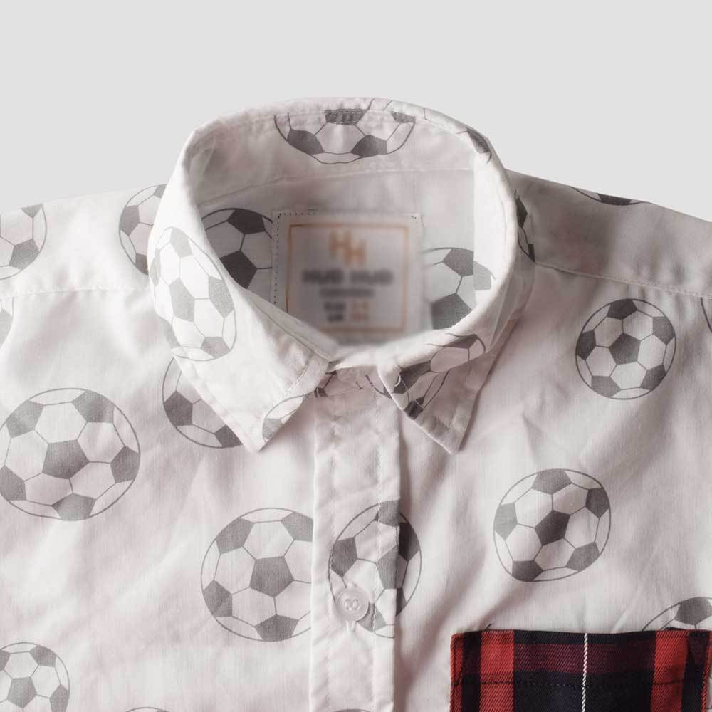 Kid's Striker Short Sleeve Casual Shirt Boy's Casual Shirt MHJ