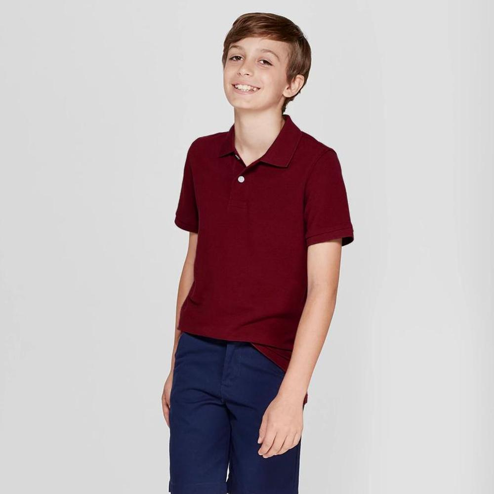 GAP Cut Label Boy's Solid Polo Shirt Boy's Polo Shirt First Choice