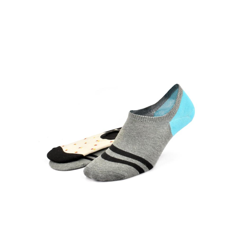 Polo Republica Pack of Two Cosy No Show Y Heel Socks Socks Mouzay