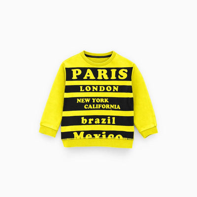 BCB Kids Paris Printed Terry Sweat Shirt Boy's Sweat Shirt First Choice 62