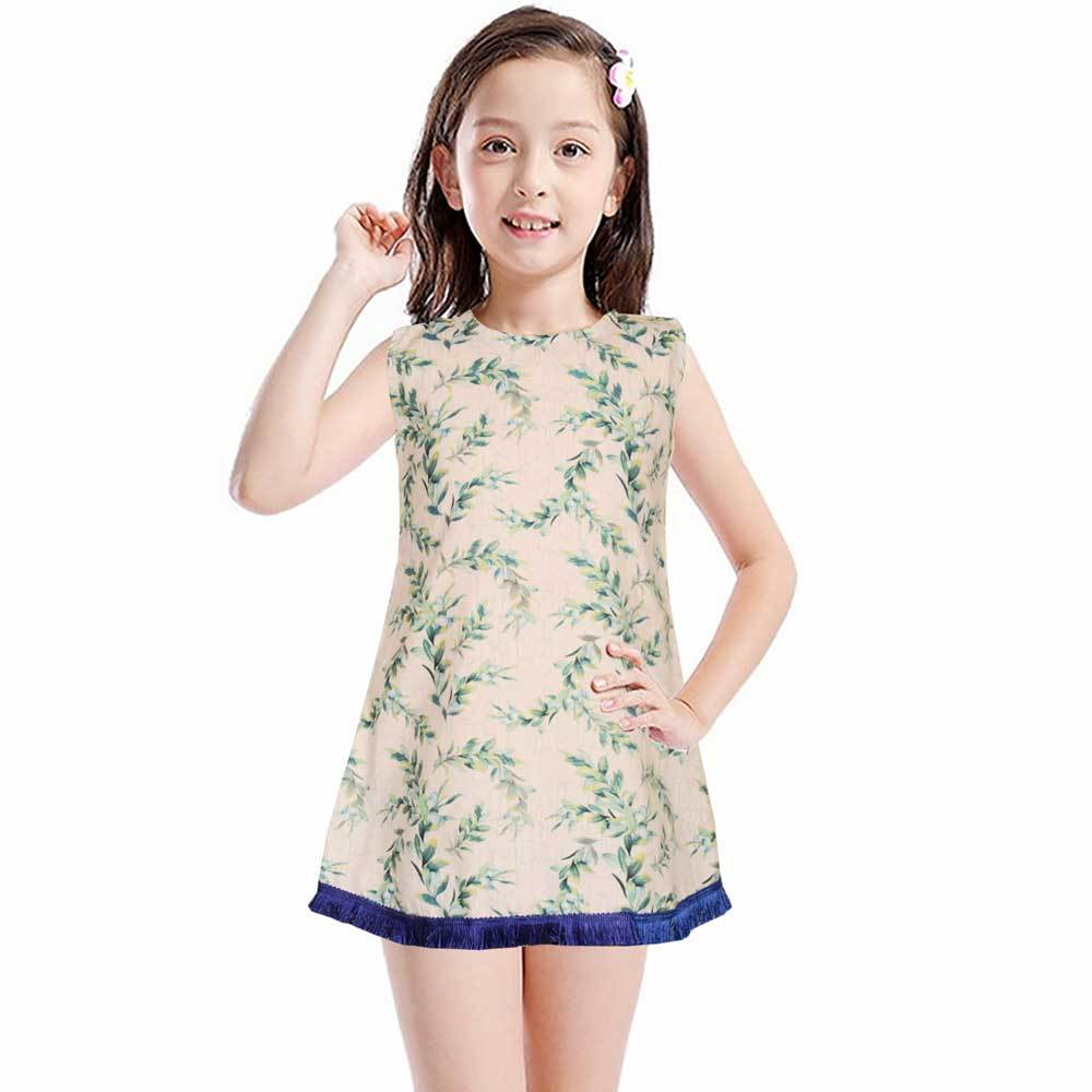 Safina Kid's Fiumicino Sleeveless Frock Girl's Frock Bohotique 2-3 Years