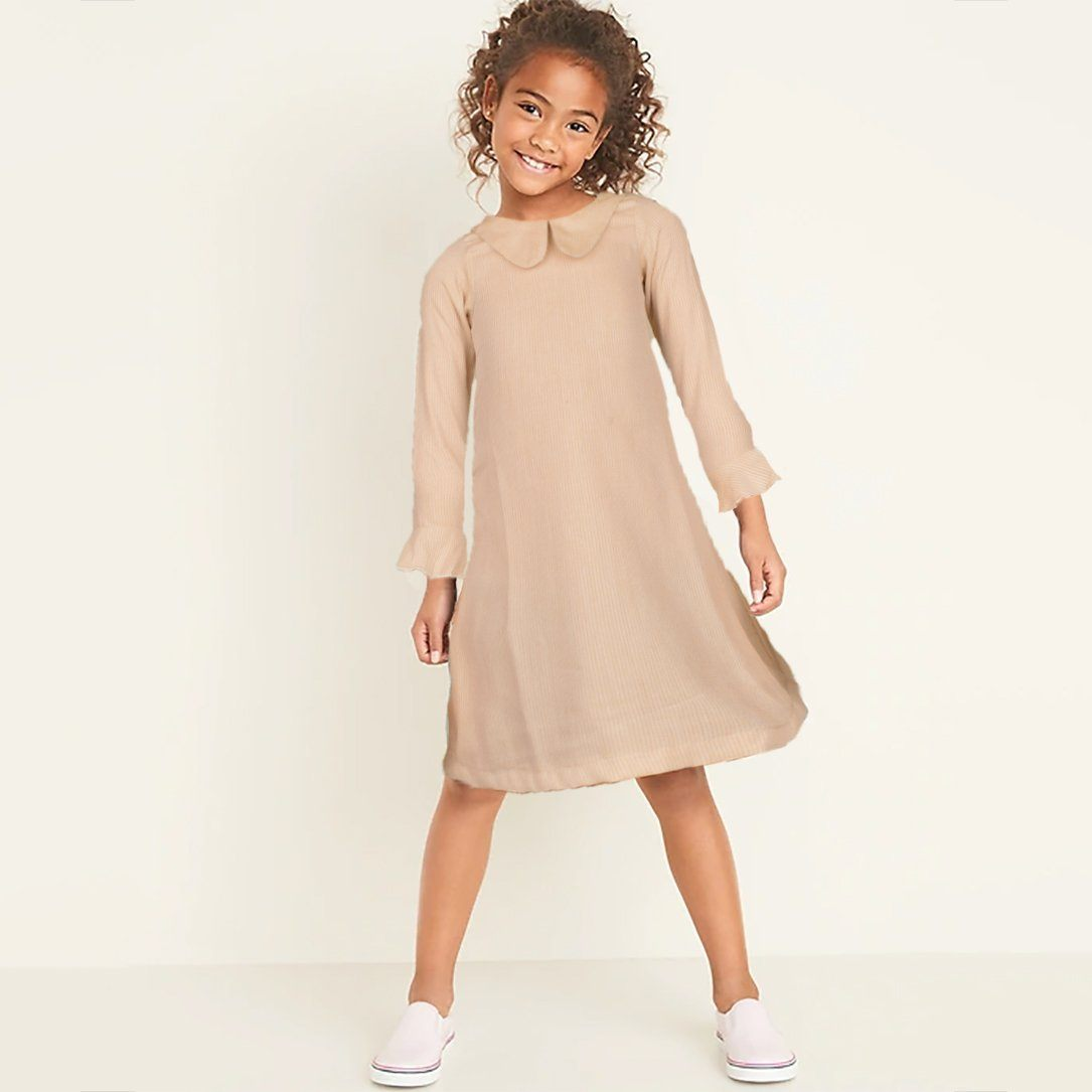 Safina Kid's Alluring Long Sleeve Frock Girl's Frock Bohotique 2-3 Years