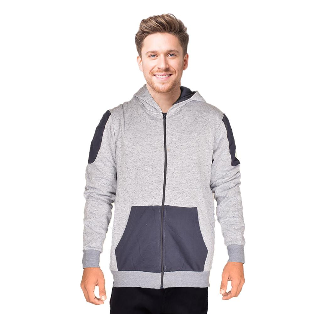 Play Zone Men's Impeccable Style Zipper Hoodie Men's Zipper Hoodie NMA S