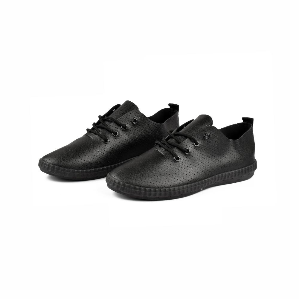 Kamengsi Women's Lace up Canvas Shoes Women's Shoes Sunshine China Black Black EUR 35