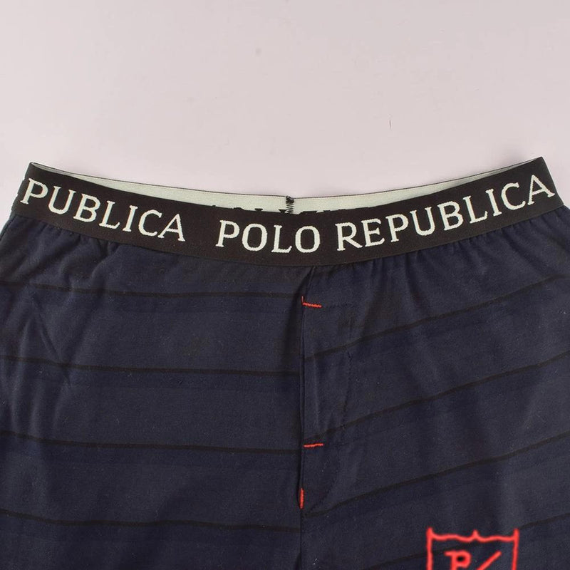 Polo Republica PR Logo Casual Lounge Pants Men's Sleep Wear Polo Republica