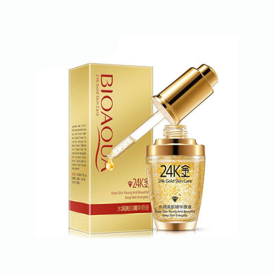 BIOAQUA 24K Gold Essence Collagen Moisturizing Hyaluronic Acid Mask Health & Beauty Sunshine China