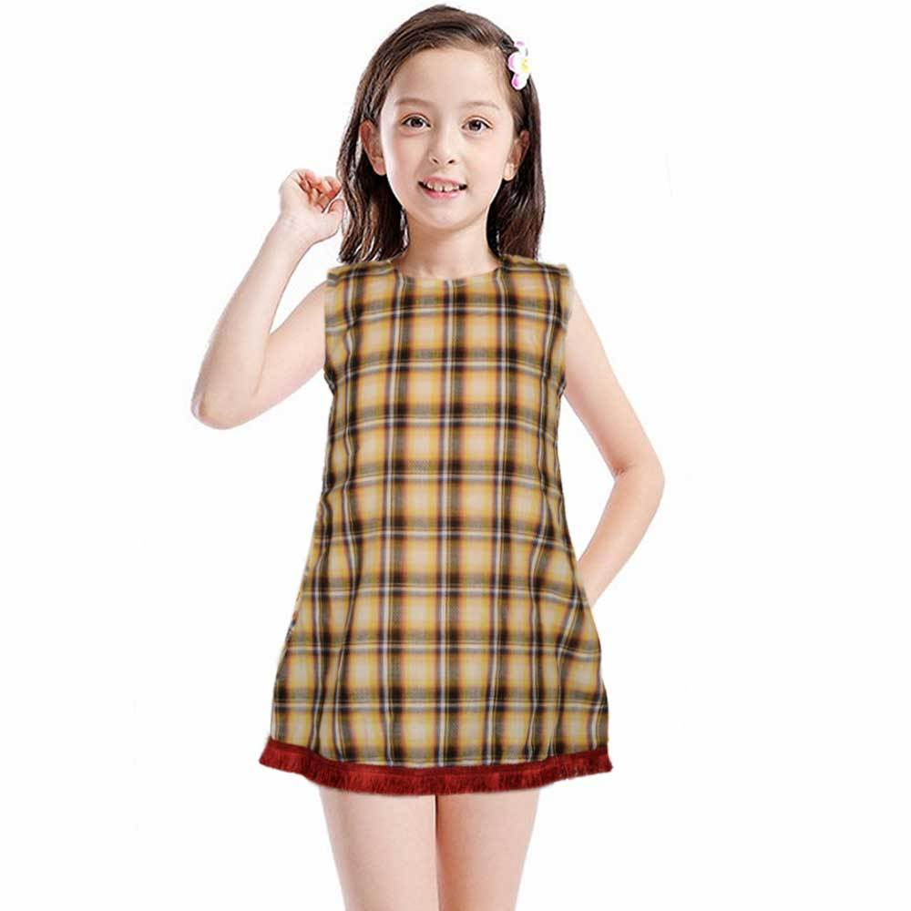 Safina Kid's Sassari Sleeveless Frock Girl's Frock Bohotique 2-3 Years