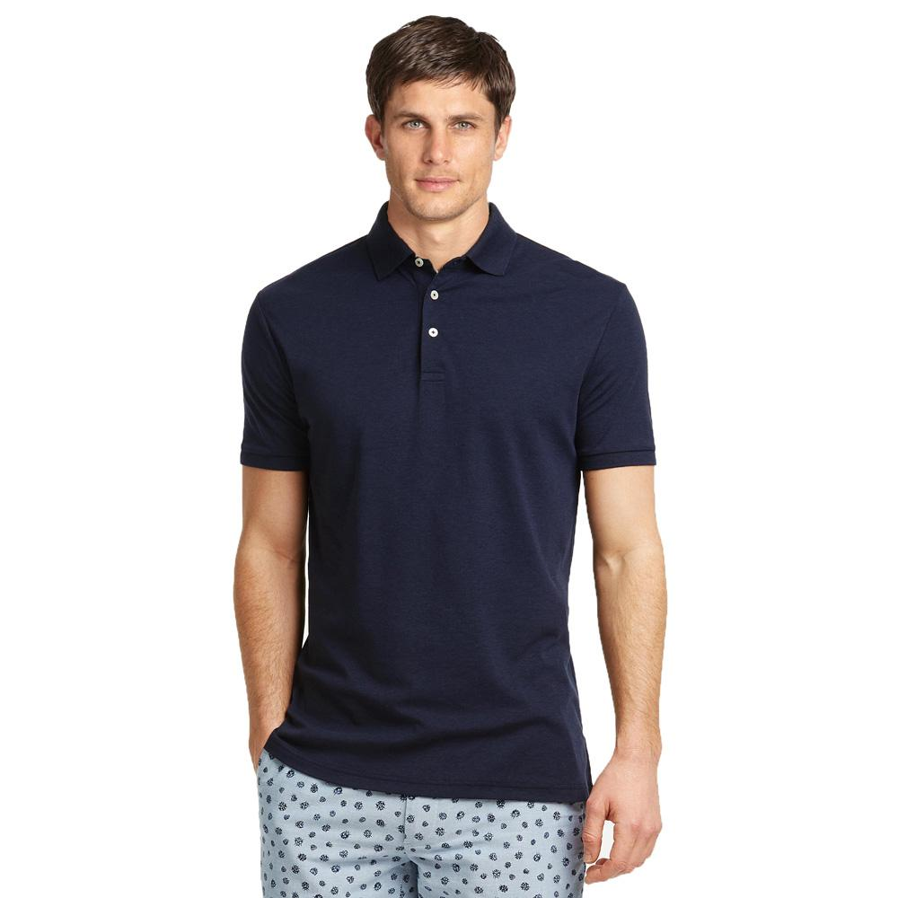 WB Men's Sleek Style Polo Shirt Men's Polo Shirt Image Navy XS