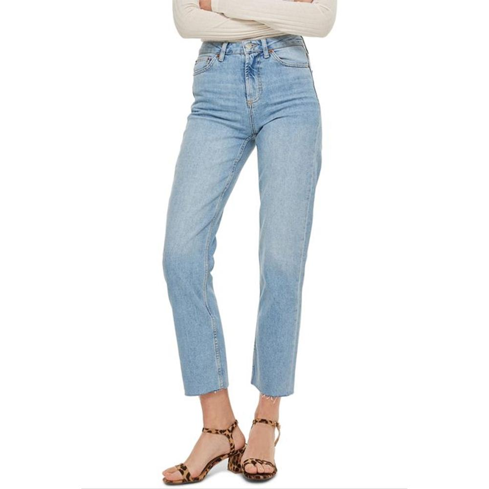 Weekday Women's Raw Edge Slim Fit Denim Women's Denim SRK 24 30