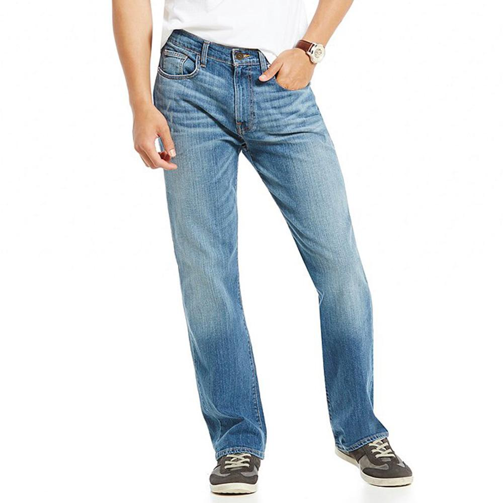 DNM Zarzis Mid Wash Straight Fit Denim