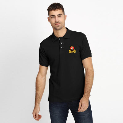 Polo Republica Redruth Rugby Polo Shirt Men's Polo Shirt Polo Republica Black Black S