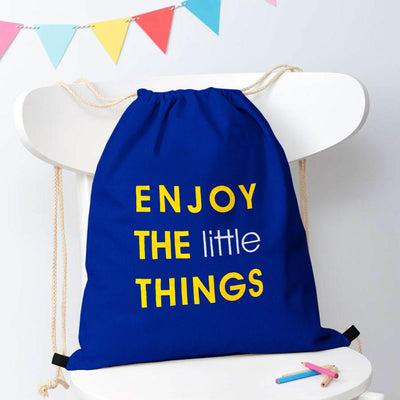 Polo Republica Enjoy Little Things Drawstring Bag Drawstring Bag Polo Republica Royal Yellow