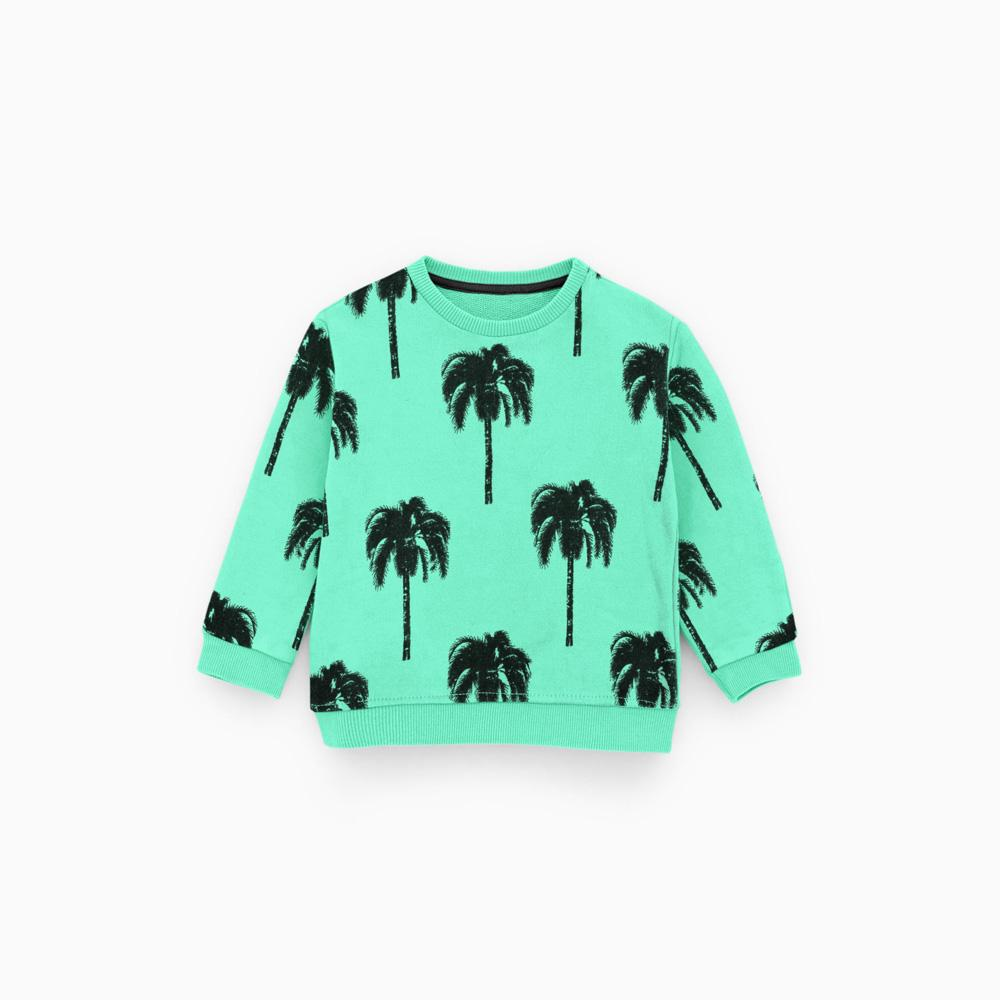 b2ef5a206 ZR Kids Beach Printed Design Fleece Sweat Shirt Boy's Sweat Shirt First  Choice 3-6