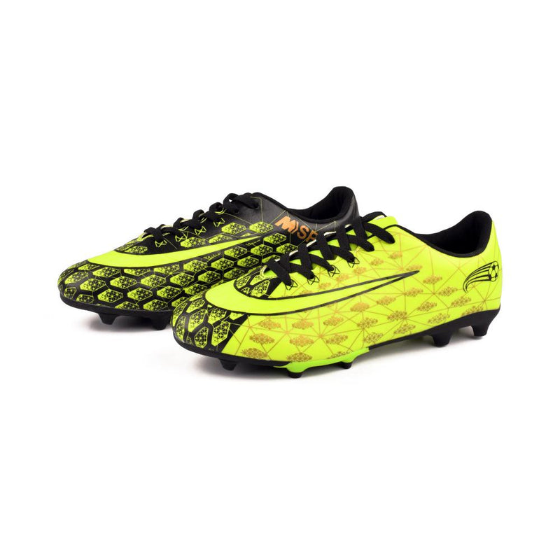 M Sport Men's Football Shoes Men's Shoes MB Traders Orange Yellow EUR 39