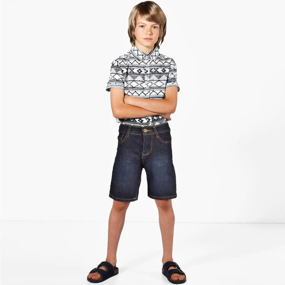 180 Comfortable Boy's Denim Shorts Boy's Shorts First Choice