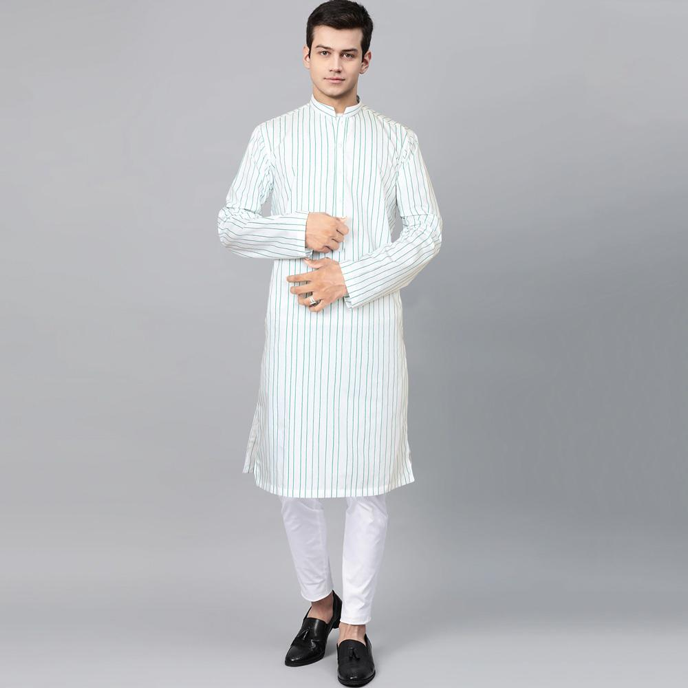 HH Men's Azize Stitched Kurta Men's Kurta MHJ S