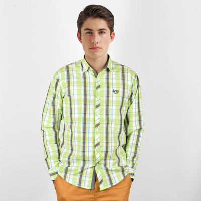 AHE Tampico Fashion Awesome Check Design Casual Shirt Men's Casual Shirt AHE M