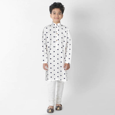 Polo Republica Star Design Boy's Kurta Boy's Kurta MAJ 2 Years