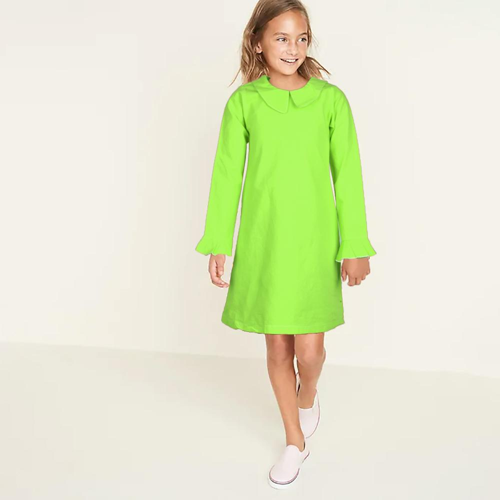 Safina Kid's Tempting Long Sleeve Frock Girl's Frock Bohotique 2-3 Years