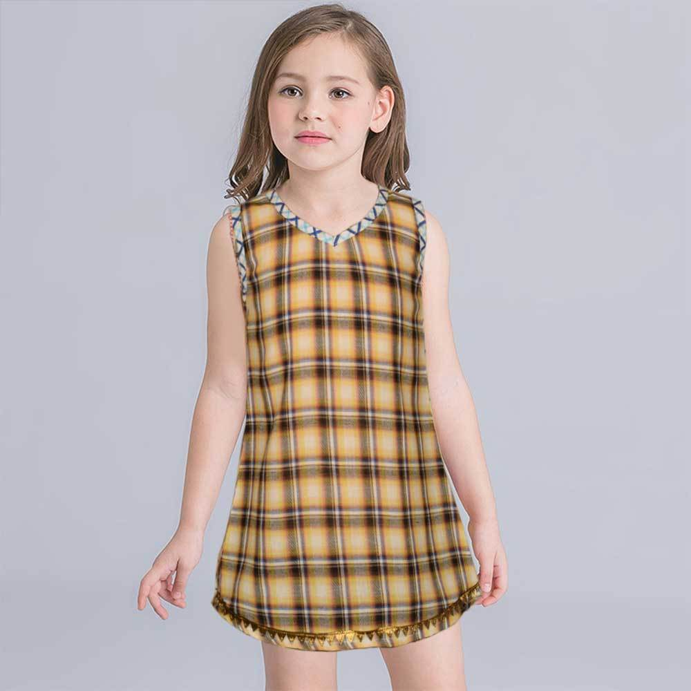 Safina Kid's Fernie Sleeveless Frock Girl's Frock Bohotique 2-3 Years
