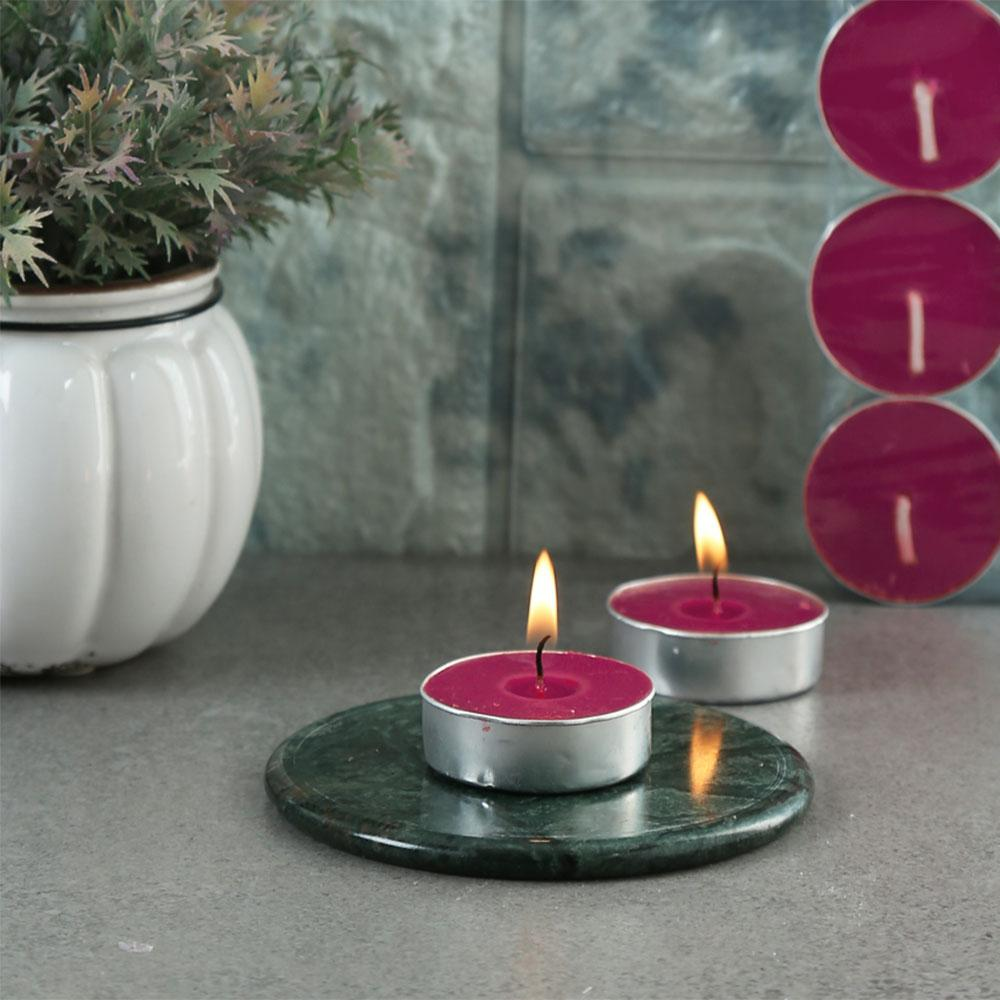 Melinera Assorted Pack of 18 Scented tealight Candles Home Supplies ANF