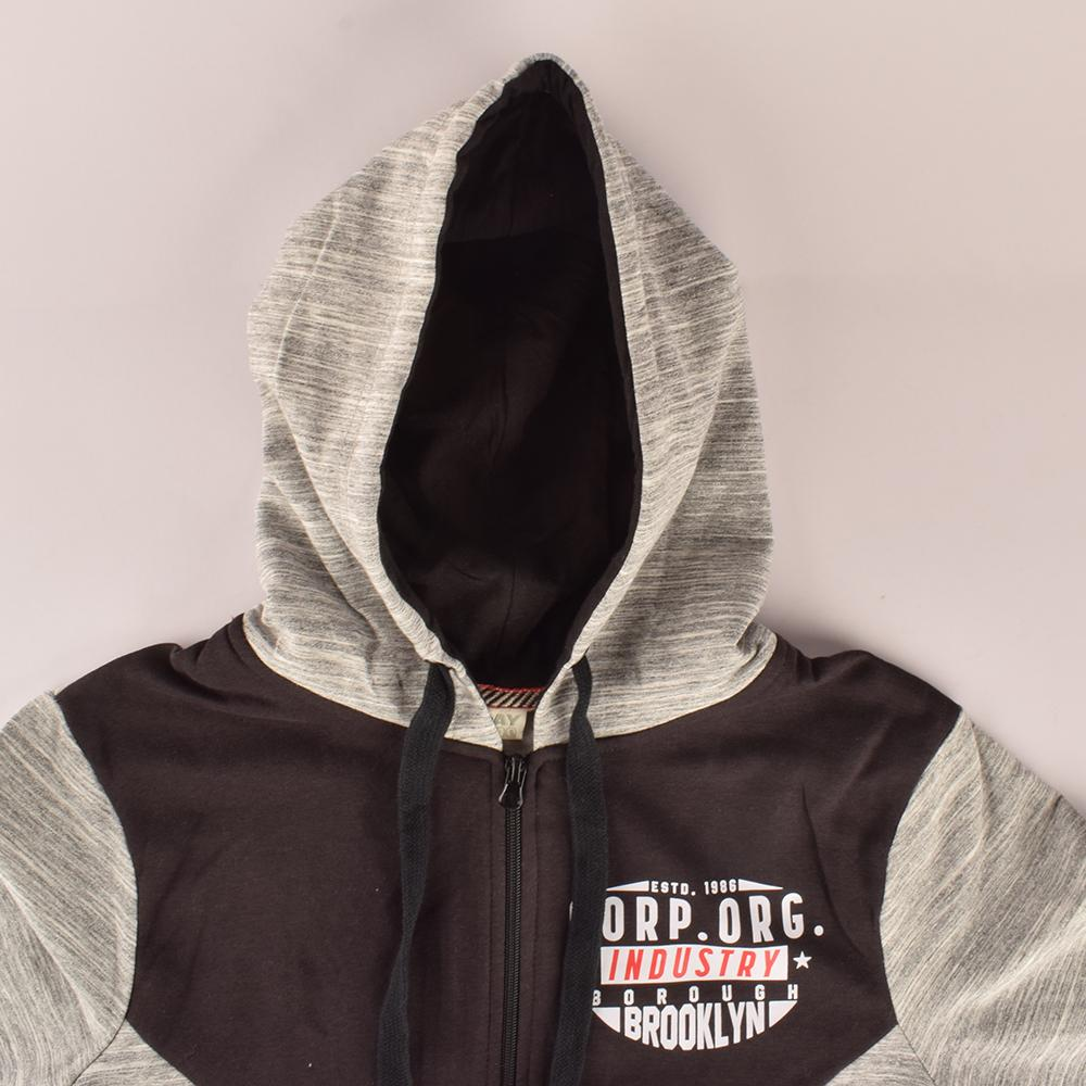 Play Zone Men's Industry Borough Brooklyn Zipper Hoodie Men's Zipper Hoodie NMA