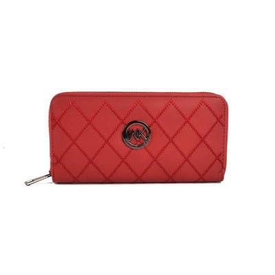 Walk In Korea Faux Leather Clutch Bag