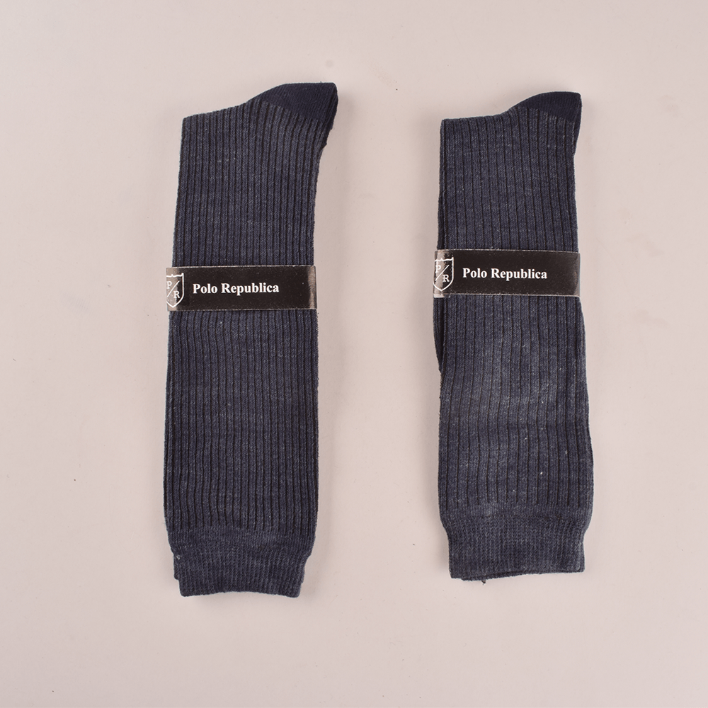 Polo Republica Women's Delineate Pack Of 2 Crew Socks Socks RKI Navy EUR 35-38