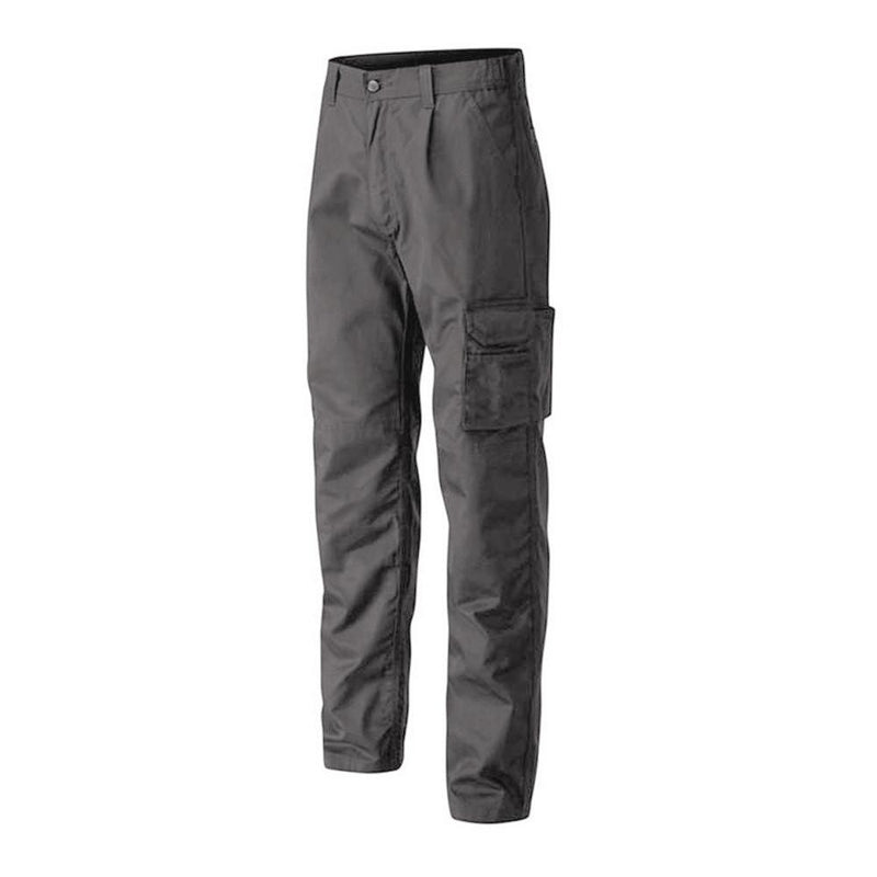 WB Men's Solid Cargo Trousers Men's Cargo Pants Image Navy 28 30