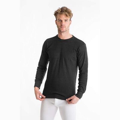 Viva Classic Long Sleeve Thermal Tee Shirt Men's Tee Shirt SNC Charcoal 6