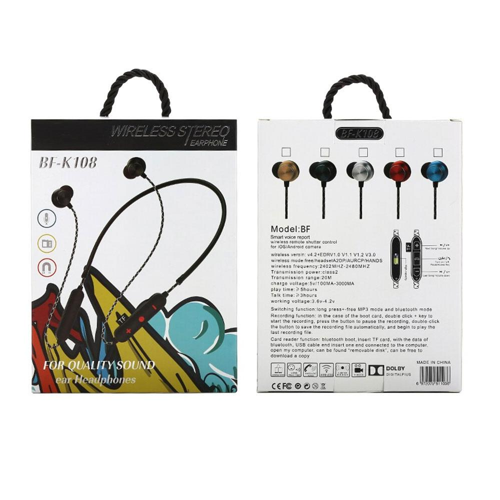 Magnetic Wireless Stereo Bluetooth Earphones Mobile Accessories ALLADIN MERCHANTS