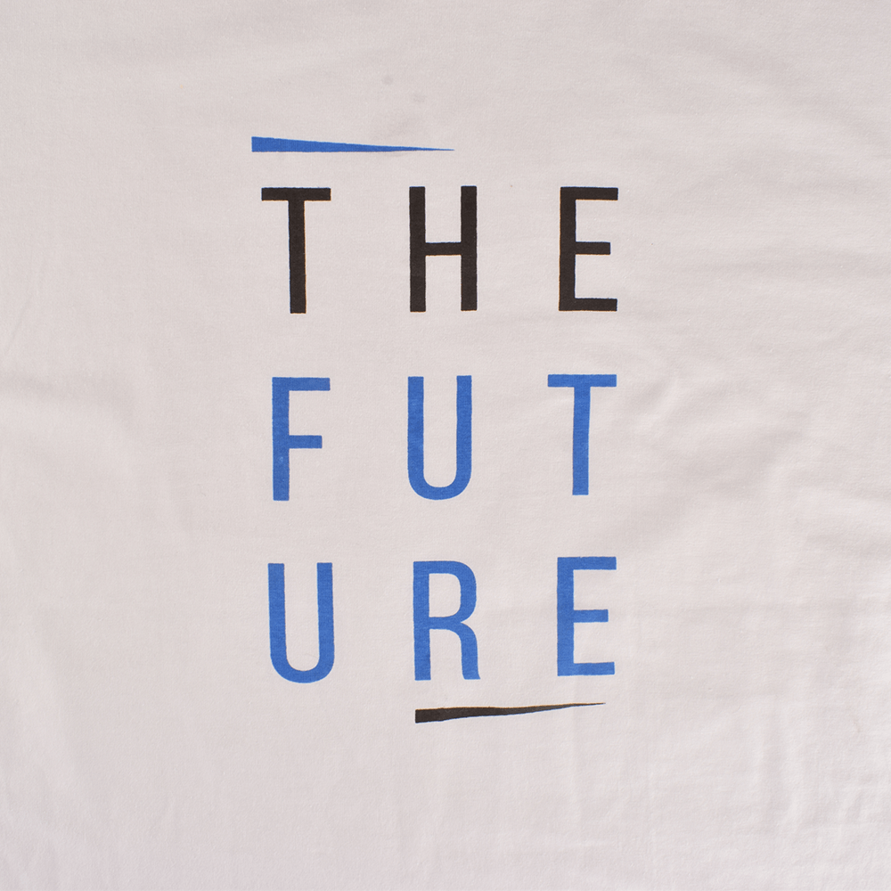 LE The Future Long Sleeve Crew Neck Tee Shirt Men's Tee Shirt Image