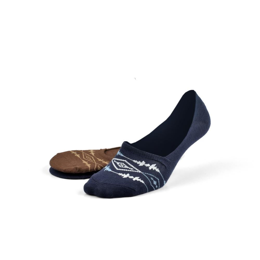 Polo Republica Pack of Two No Show Invisible Socks Socks Mouzay