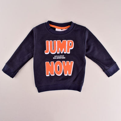ZR Kid's Jump Now Terry Sweat Shirt Boy's Sweat Shirt First Choice 3-6 Months
