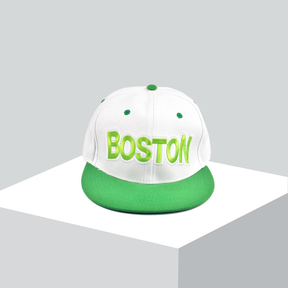 Boston Contrast Color Baseball Cap Headwear MB Traders