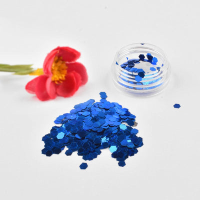 DIY Adolfo Shining Nail Art Decorations Glitter Powder Health & Beauty Sunshine China Royal Blue