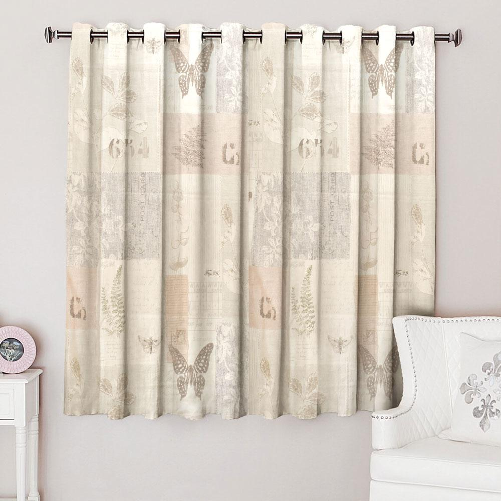MB Suma Anterior One Piece Eyelet Curtain Curtain MB Traders W-46 x L-54 Inches