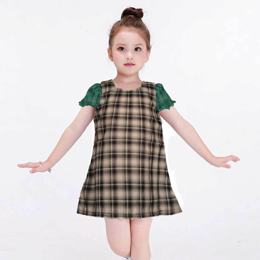 Safina Kid's Illinois Short Sleeve Frock Girl's Frock Bohotique 2-3 Years