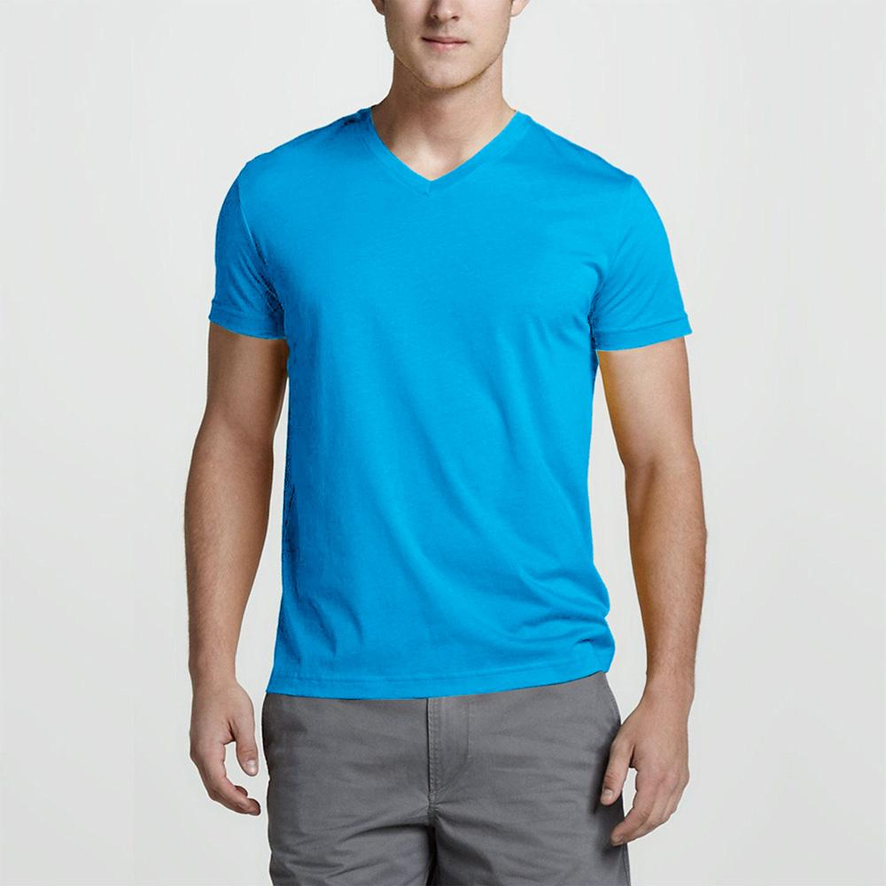 Ultpot Short Sleeve Minor Fault V-Neck Tee Shirt