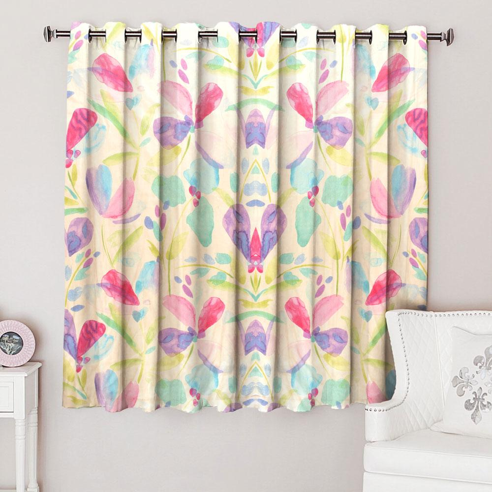 Dunelm Colorful Texture One Piece Eyelet Curtain Curtain MB Traders W-46 x L-54 Inches