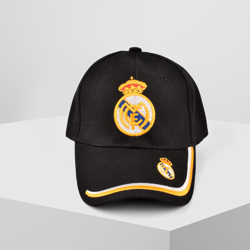 MB Real Madrid Embro P Cap Headwear MB Traders Black