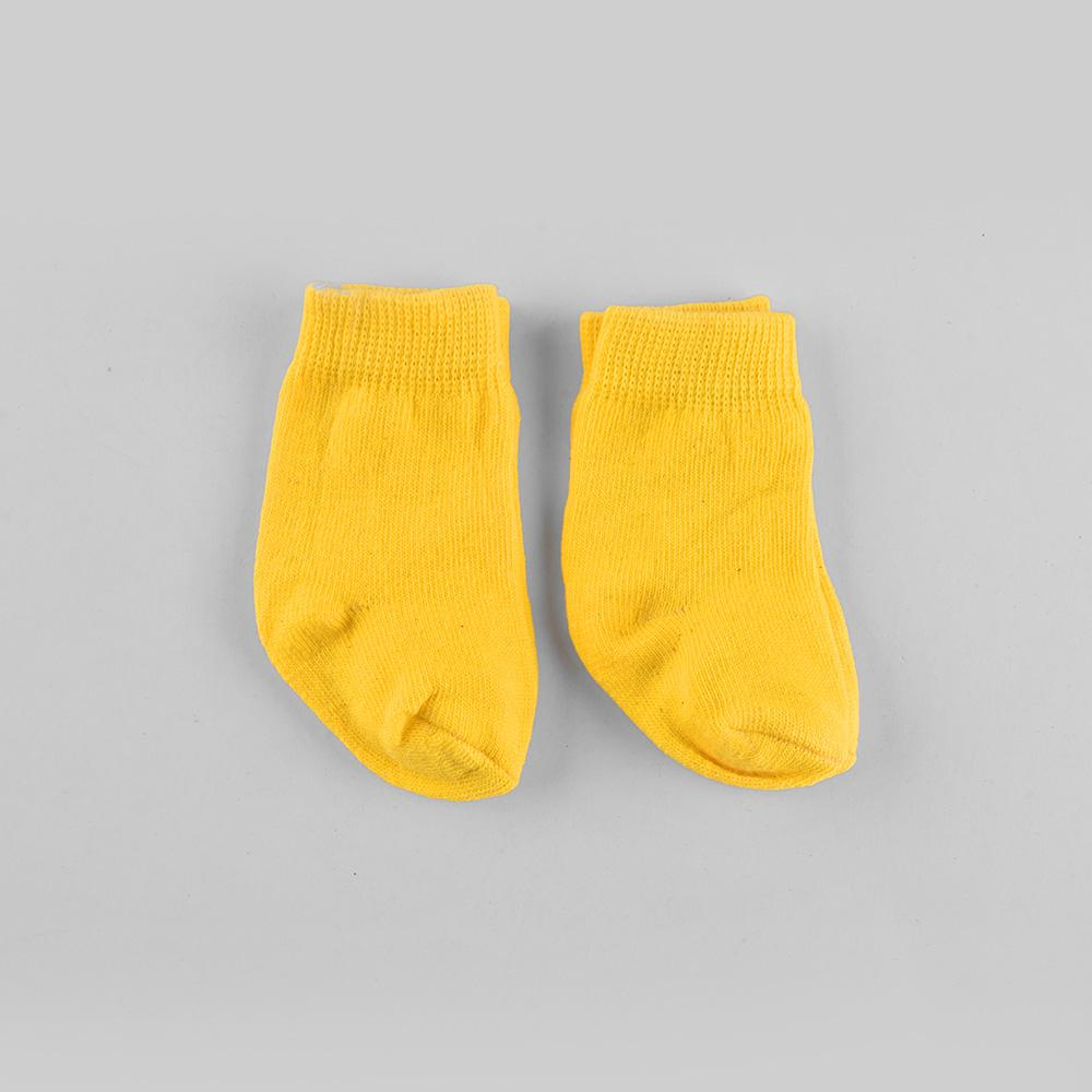 Polo Republica New Born Glamorous Style Pack of Two Socks Socks RKI Yellow New Born