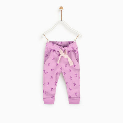 ZR Chifeng Plush Text Kids Terry Jogger Pants Boy's Trousers First Choice 3-6 Months