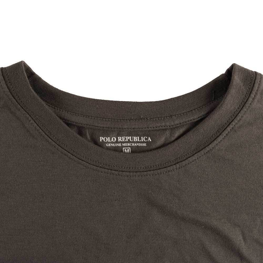 Polo Republica Men's Printed Tee Shirt Eclipse Men's Tee Shirt Polo Republica Graphite S