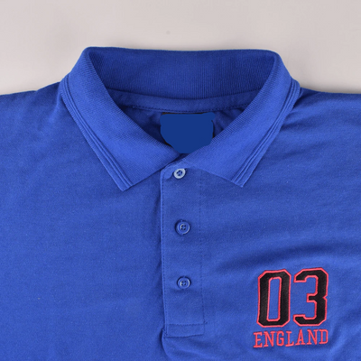 EGL England Embro Short Sleeves Polo Shirt Men's Polo Shirt Image