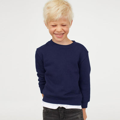 NWL Brushed Fleece Boy's Sweat Shirt Boy's Sweat Shirt SNC Navy 9 Years