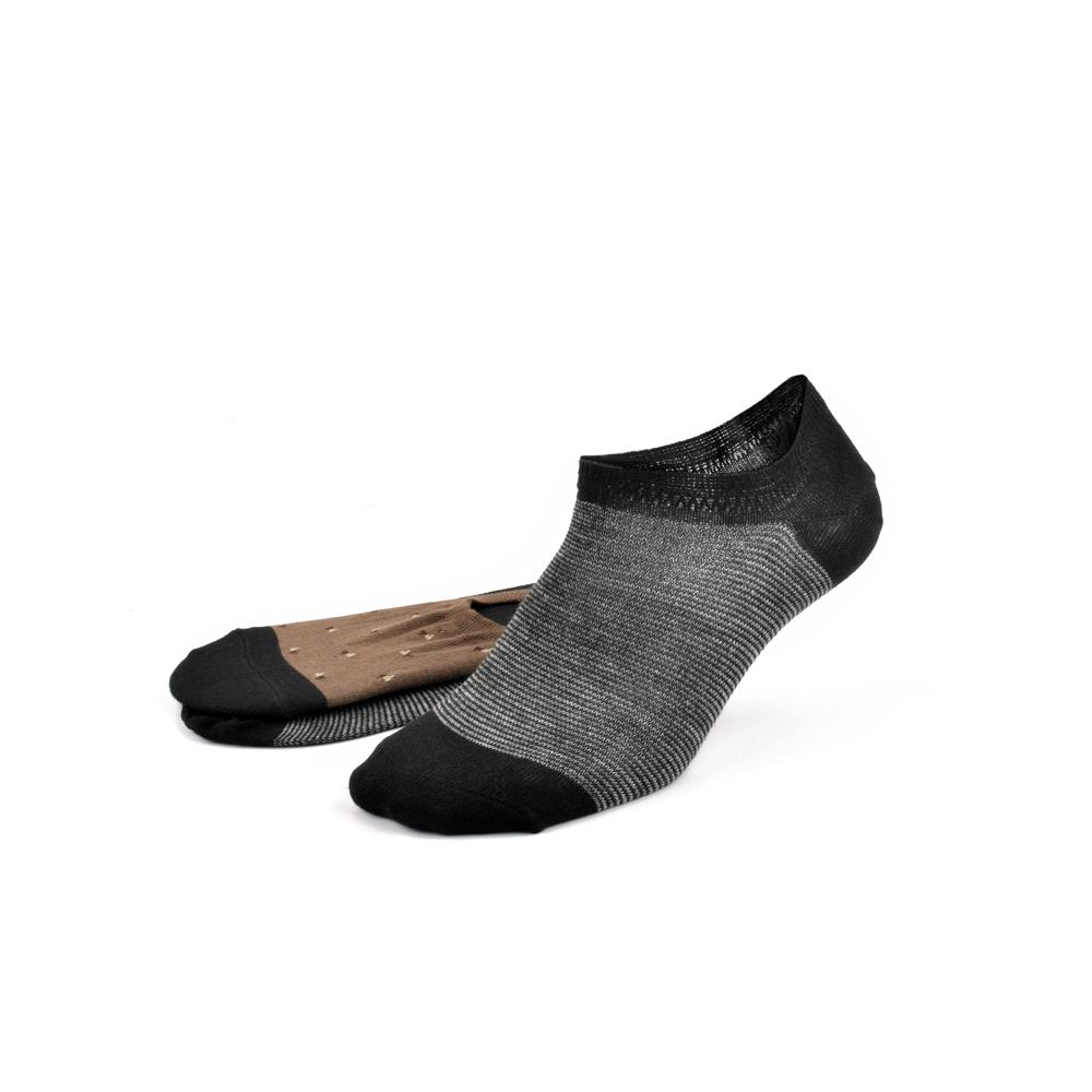 Polo Republica Pack of Two Sumptuous No Show Y Heel Socks Socks Mouzay