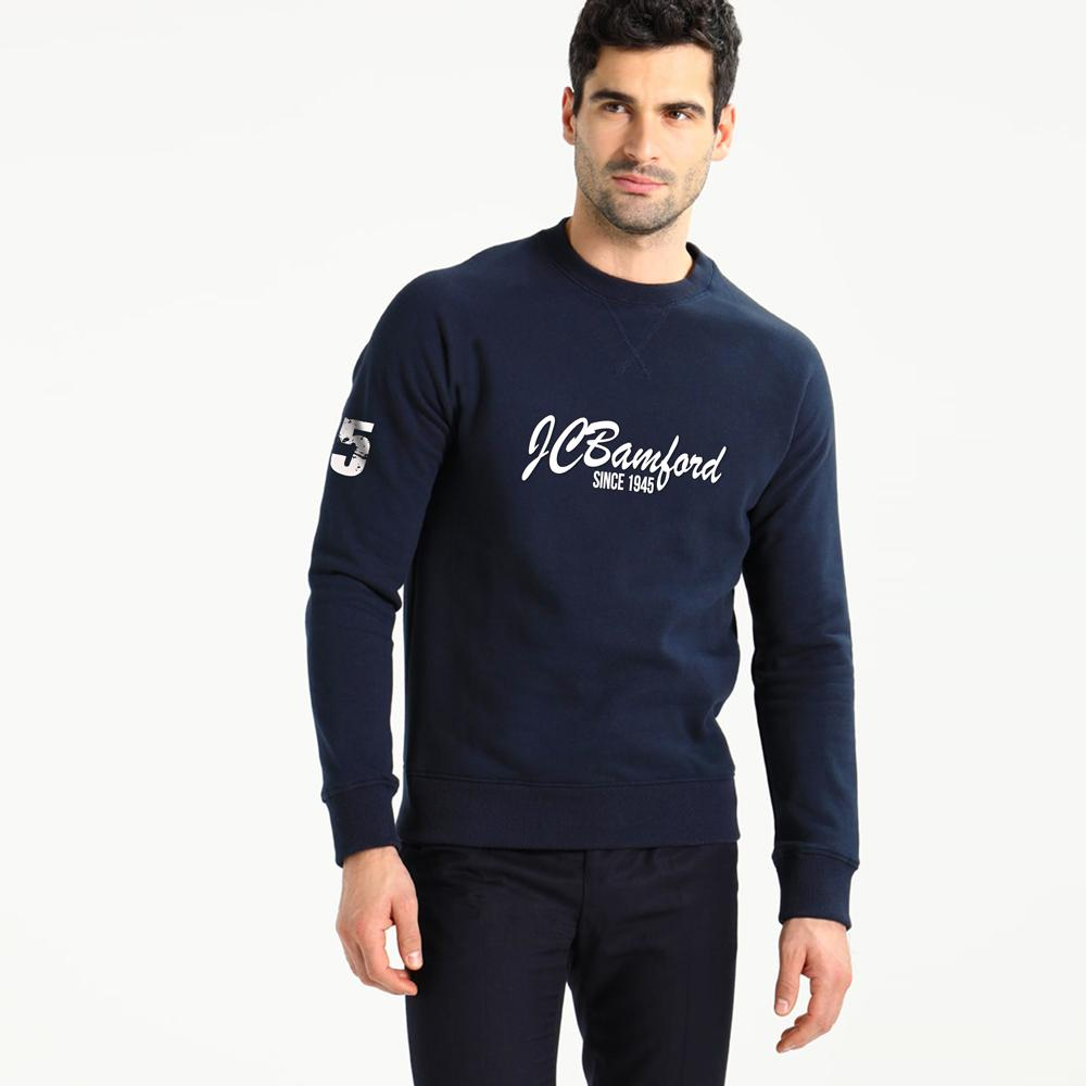 JCB 1945 Limited Edition Sweat Shirt Men's Sweat Shirt Image Navy Navy S